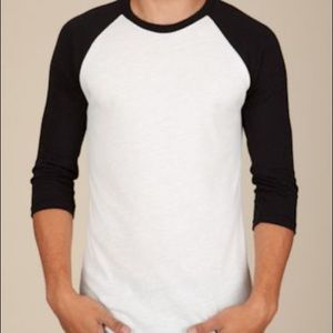 Alternative Apparel 3/4 Sleeve Baseball Tee